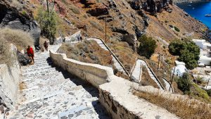 Stairs to the Armeni Port