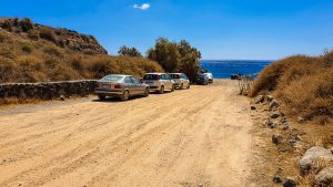 Parking place at Kambia Beach