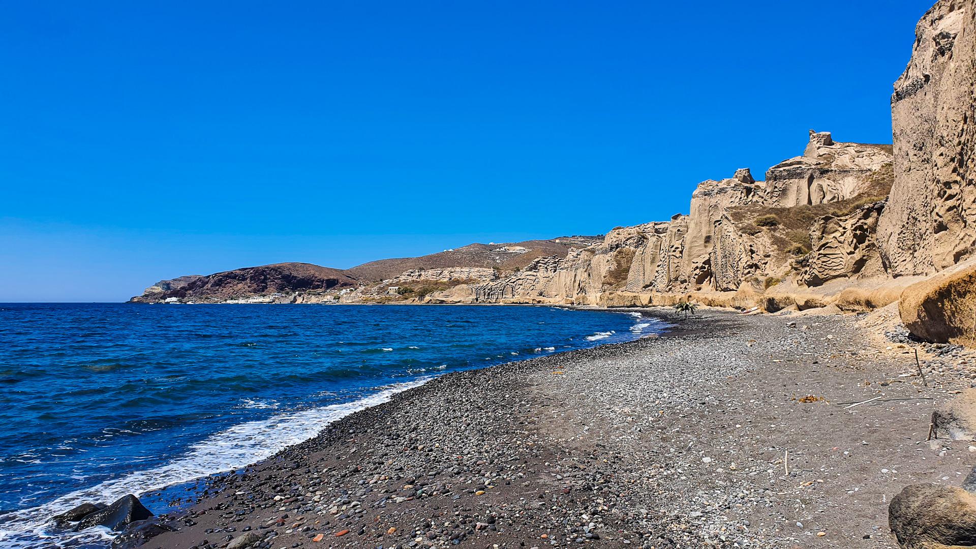 Almyra Beach view to the West